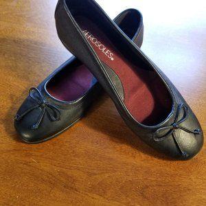 Aerosoles/ Black Leather /Shoes